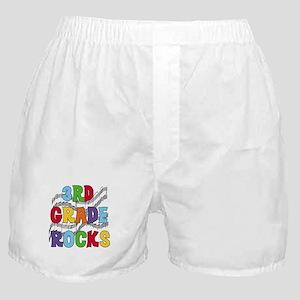 Bright Colors 3rd Grade Boxer Shorts