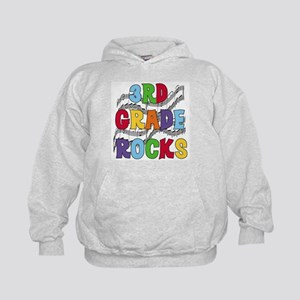 Bright Colors 3rd Grade Kids Hoodie
