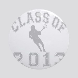 Class Of 2013 Lacrosse Round Ornament