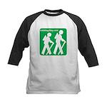 Hiking Kids Baseball Jersey