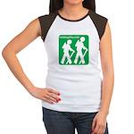 Hiking Women's Cap Sleeve T-Shirt