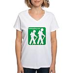 Hiking Women's V-Neck T-Shirt