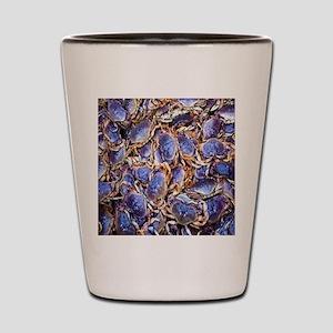 Blue Crab Shot Glass