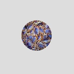 Blue Crab Mini Button