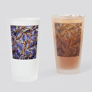 Blue Crab Drinking Glass