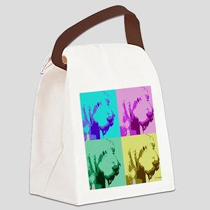 Spinone a la Warhol 2 Canvas Lunch Bag