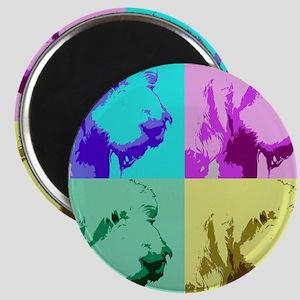Spinone a la Warhol 2 Magnet