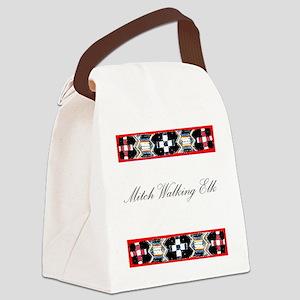 Mitch Walking Elk Canvas Lunch Bag