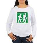 Hiking Women's Long Sleeve T-Shirt