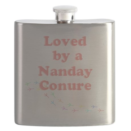 Loved by a Nanday Conure Flask