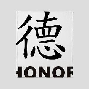 Honor (de) Throw Blanket