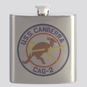 uss canberra patch transparent Flask