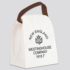New England Westinghouse Canvas Lunch Bag