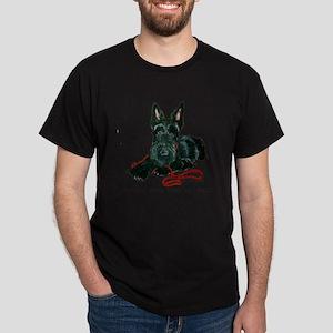 Scottish Terrier Rescue Me Dark T-Shirt
