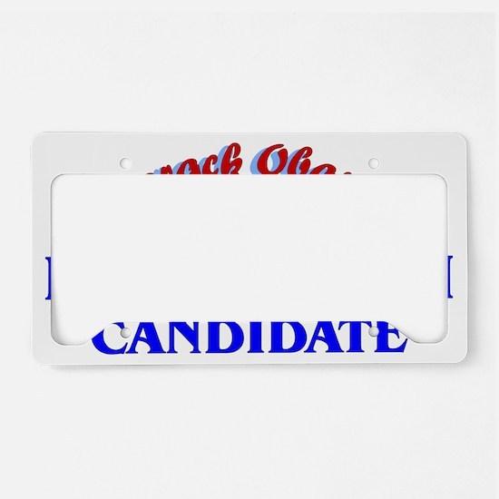 Manchurian Candidate License Plate Holder