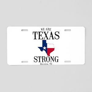 Houston Tx Aluminum License Plate