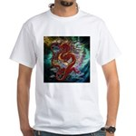 Chinese Dragon White T-Shirt