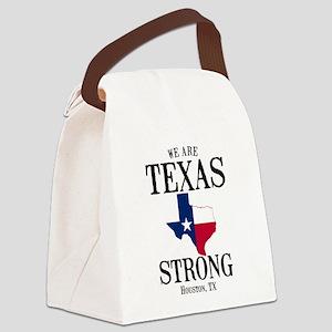 Houston TX Canvas Lunch Bag