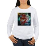 Chinese Dragon Women's Long Sleeve T-Shirt