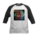 Chinese Dragon Kids Baseball Jersey