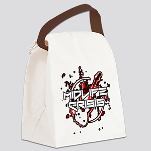 Midlife Crisis Logo T-shirt Canvas Lunch Bag