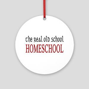 old school home school Ornament (Round)