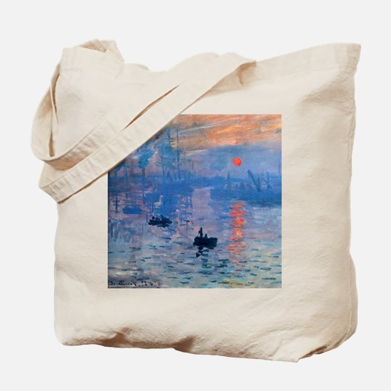 Monet Sunrise Tote Bag