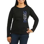 Suomi Women's Long Sleeve Dark T-Shirt
