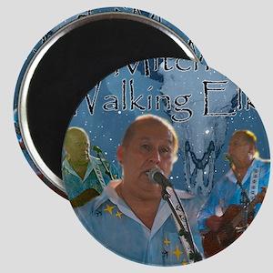 Mitch Walking Elk Magnet