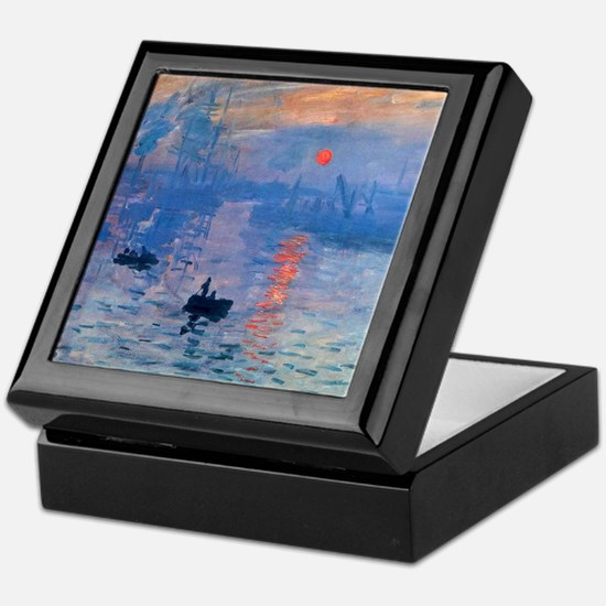 Monet Sunrise Keepsake Box