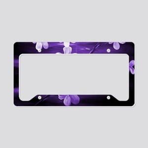 Cherry Blossom Night Shadow P License Plate Holder