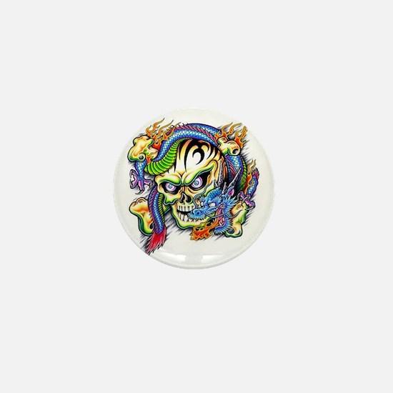 skull1 Mini Button