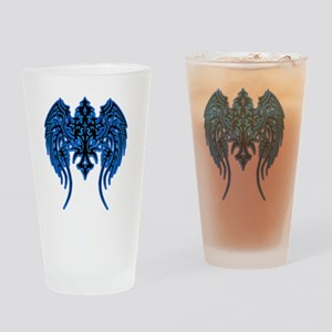 Wings / Cross Drinking Glass