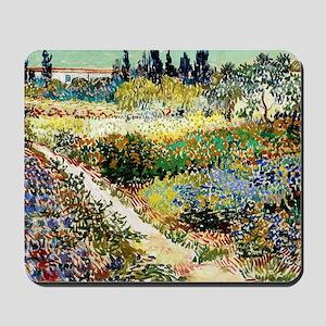 Van Gogh Garden At Arles Mousepad
