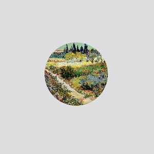 Van Gogh Garden At Arles Mini Button