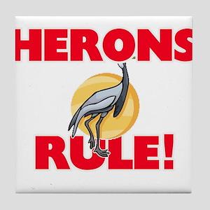 Herons Rule! Tile Coaster