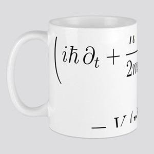 Schrodinger wave equation, nabla Mug