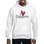 i love outdoors Hooded Sweatshirt