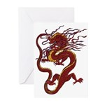 Chinese Dragon Greeting Cards (Pk of 10)