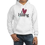 I love Hiking Hooded Sweatshirt