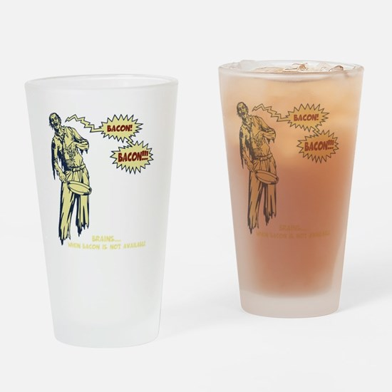 zombie-bacon-DKT Drinking Glass