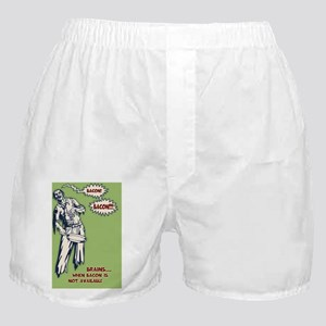 zombie-bacon-STKR Boxer Shorts