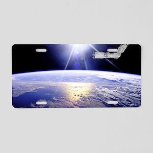 toiletry_bag Aluminum License Plate