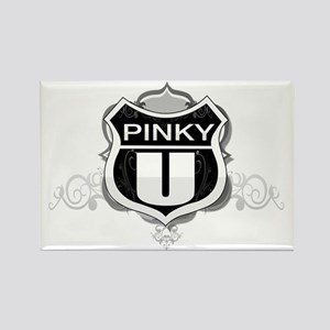 pinky University Rectangle Magnet