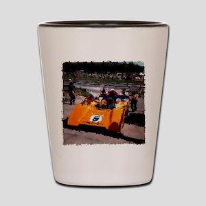 Orange 5:  Can-Am MacLaren Shot Glass