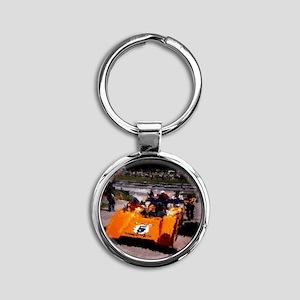 Orange 5:  Can-Am MacLaren Round Keychain