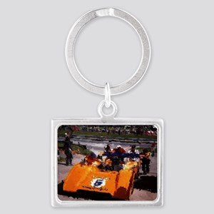 Orange 5:  Can-Am MacLaren Landscape Keychain