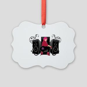 Speaker luv Picture Ornament