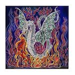 Dragon Fire Tile Coaster