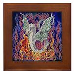 Dragon Fire Framed Tile